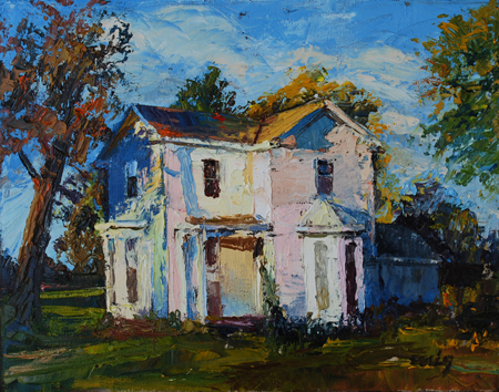 Old house painting for Classic house painting